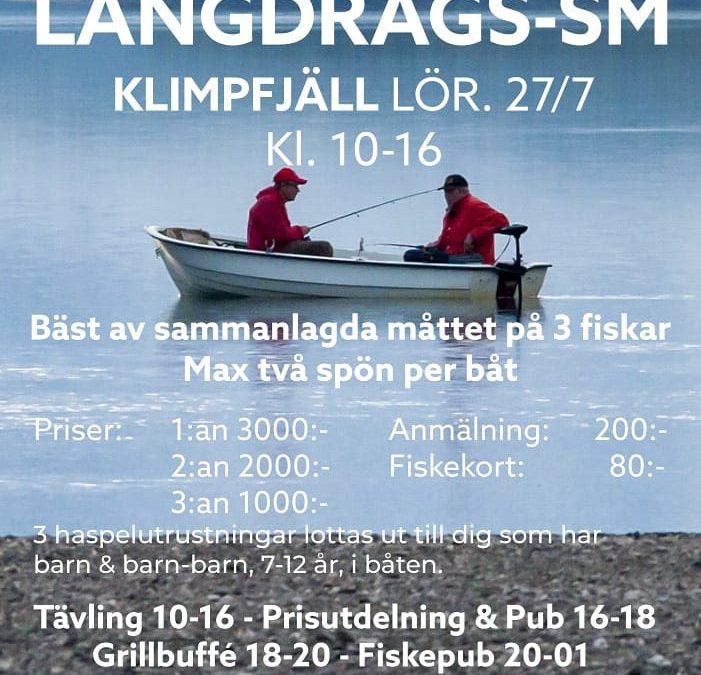 Långdrags- SM 2019 i Klimpfjäll